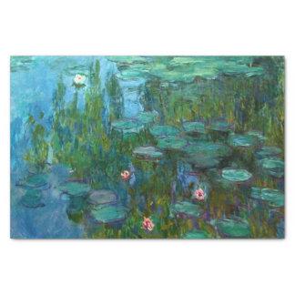 Claude Monet's Nymphéas Tissue Paper