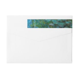 Claude Monet's Nymphéas Wrap Around Label