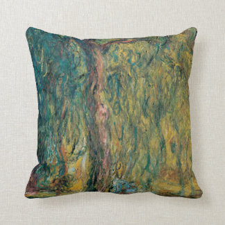 Claude Monet's Weeping Willow Cushion