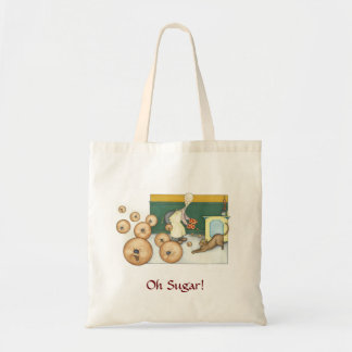 Claude the Baker - bouncing cookies Canvas Bag