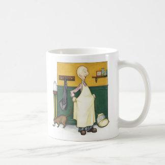 Claude the baker -  morning prep basic white mug