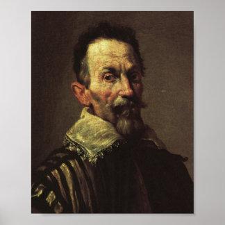 Claudio Monteverdi Poster