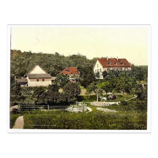 Claushof, Bad Kissengen (i.e. Bad Kissingen), Bava Post Card