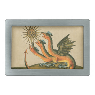Clavis Artis Alchemy Dragons Belt Buckles