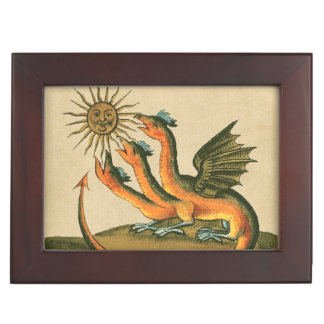 Clavis Artis Alchemy Dragons Keepsake Box