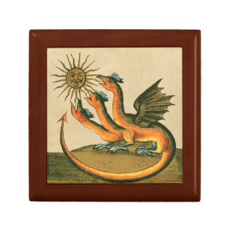 Clavis Artis Alchemy Dragons Small Square Gift Box