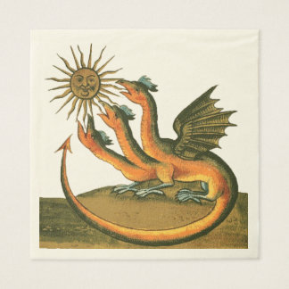 Clavis Artis Dragons Disposable Serviette