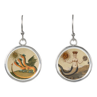 Clavis Artis Dragons Earrings
