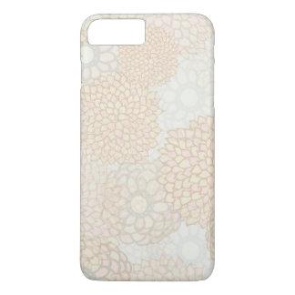 Clay and Tan Flower Burst Design iPhone 8 Plus/7 Plus Case
