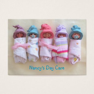 Clay Babies: Day Care, Child Care, Business Business Card