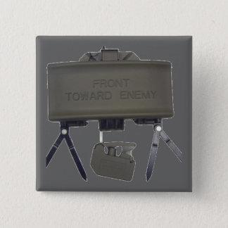 Claymore 15 Cm Square Badge