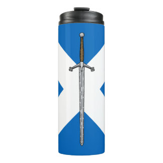 Claymore and Saltire Thermal Tumbler