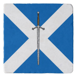 Claymore and Saltire Trivet
