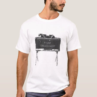"""""""Claymore 'Front Toward Enemy'"""" T-Shirt"""