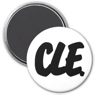 CLE Letters Magnet
