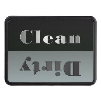 Clean and Dirty Hitch Cover Trailer Hitch Covers