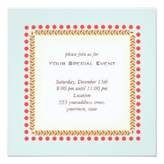 Clean and Elegant Invitation