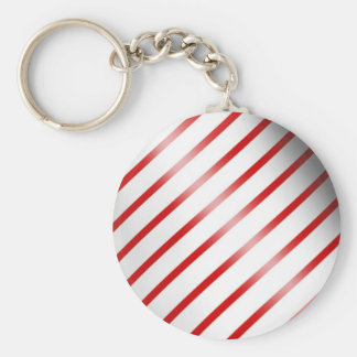Clean Candy Cane Key Chains
