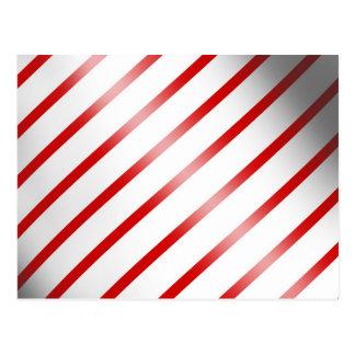 Clean Candy Cane Postcard