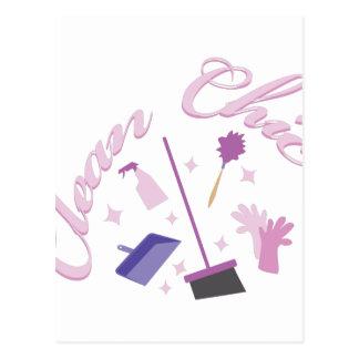 Clean Chic Postcard