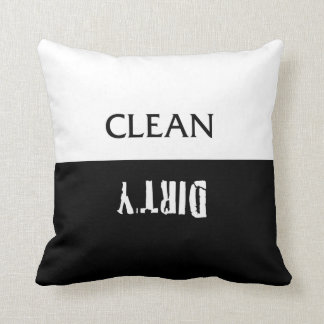Clean Dirty Dishes Magnet Pillow