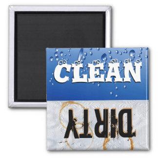 Clean Dirty Dishwasher Magnet Fridge Magnet