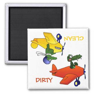 """CLEAN / DIRTY"" Flying Gators Dishwasher Magnet"