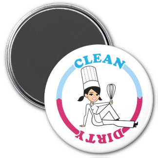 Clean Dirty Reminder Dishwasher Magnet Large