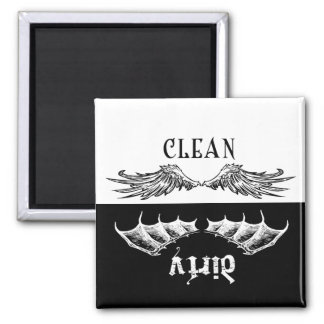 Clean & Dirty Wings Dishwasher Magnet