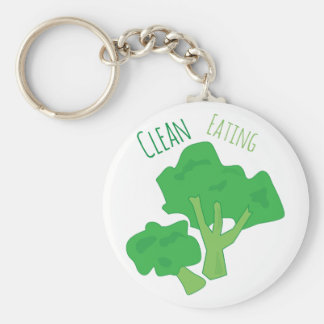 Clean Eating Key Chains