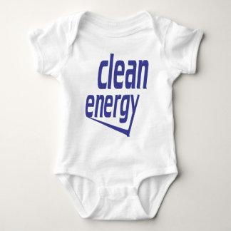 Clean energy baby bodysuit