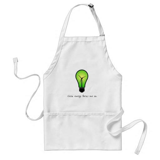 Clean Energy Bulb - Apron