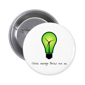 Clean Energy Bulb - Button