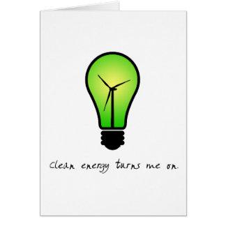 Clean Energy Bulb - Card