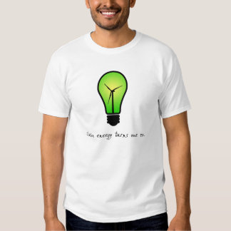 Clean Energy Bulb - Mens Shirt