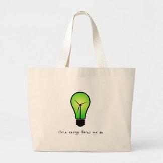 Clean Energy Bulb - Tote Bag