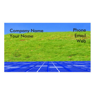 Clean Energy Concept Pack Of Standard Business Cards