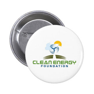 Clean Energy Foundation Pinback Button