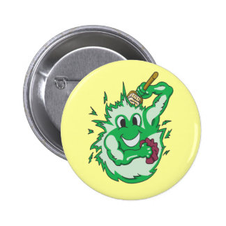 Clean Energy Green Coloured Pin
