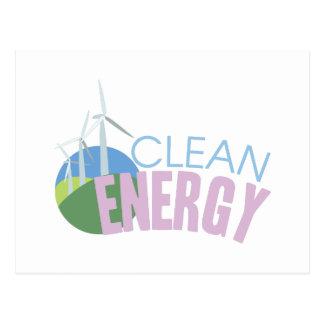 Clean Energy Postcard