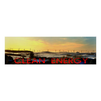 clean energy print