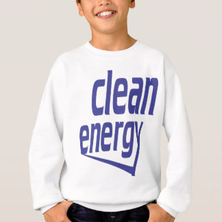 Clean energy sweatshirt