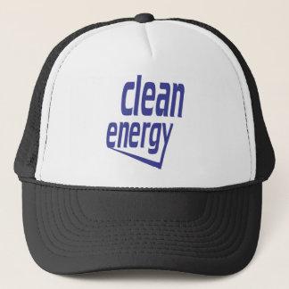 Clean energy trucker hat