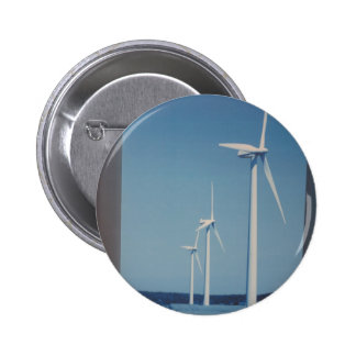 CLEAN Energy Wind Solar n Nuclear Clean GIFTs Pinback Button
