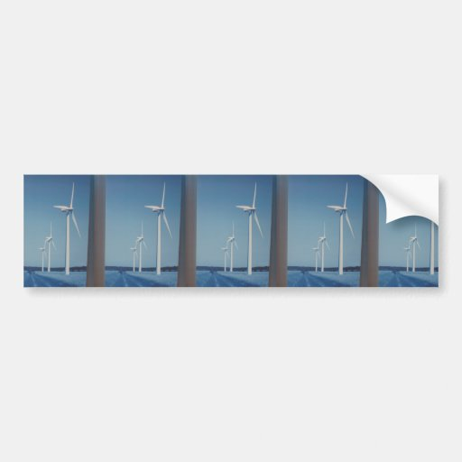 CLEAN Energy Wind, Solar n Nuclear Clean GIFTs Bumper Stickers