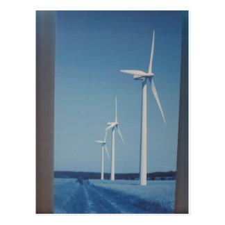 CLEAN Energy Wind, Solar n Nuclear Clean GIFTs Postcard