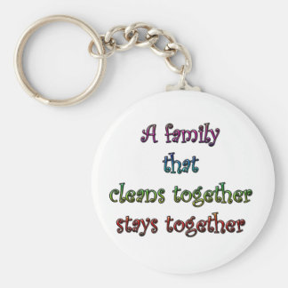 Clean Family Key Chains