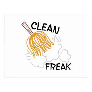 Clean Freak Postcard