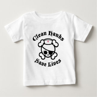 Clean Hands Baby T-Shirt