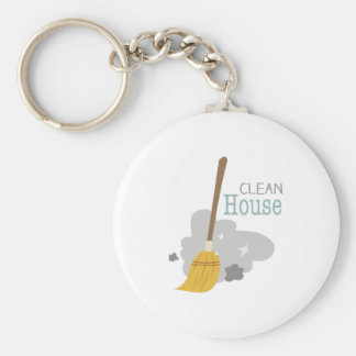 Clean House Keychains